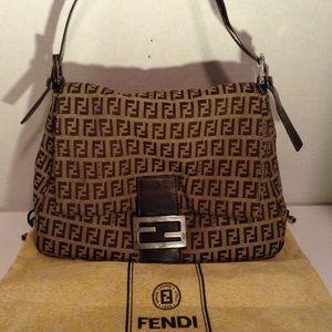FENDI - Zucca mama handbag